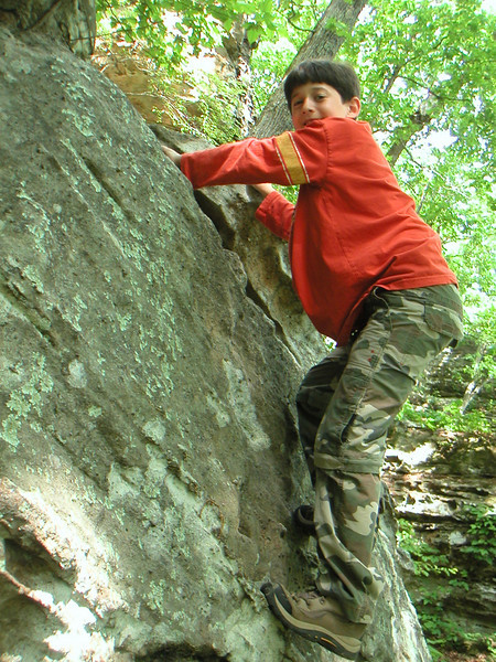 Rock Climbing in Southern Illinois