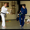Jake's Blue/Black Stripe Belt Test