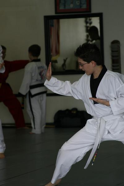 Jake's Yellow Belt Test - April 2008