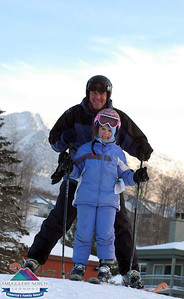 Jan.10th-Base of Morse Mt.-father & daughter moment