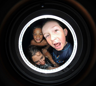 Jarvie Window with kids