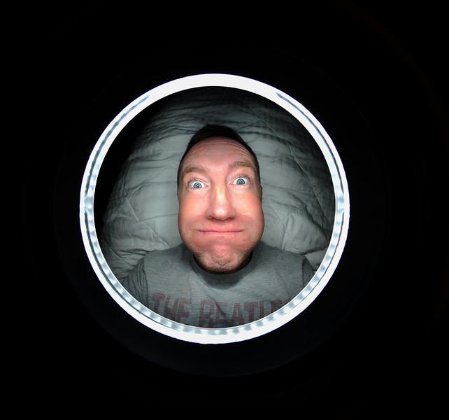 Javie Window Self Portrait