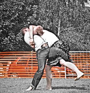 Backhold Wrestling with John Taylor and Fraser Hirsch