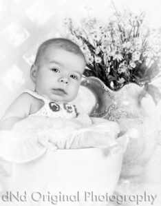 005d Jenna Bartle 2 months (b&w vig))