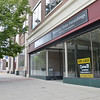 """""""For Lease"""" sign hangs on doorway of the former Consign at 369 on Main St. in Fitchburg. SENTINEL & ENTERPRISE / Ashley Green"""