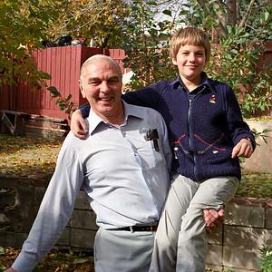 Jim Smythe and Richard Hudson [Ruth's brother], Calgary : autumn 1986