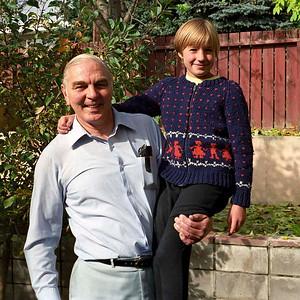 Jim Smythe and Ruth Hudson, Calgary : autumn 1986