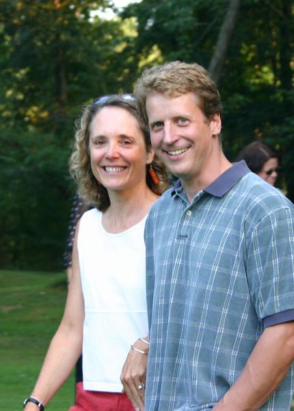 John and Sarah<br /> September 2005
