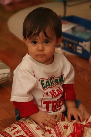 Jordan's First Christmas - 2008