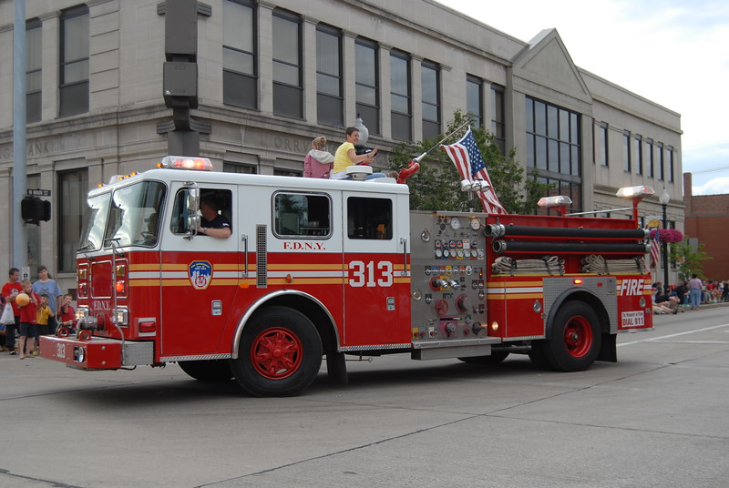 Fire Tanker that the People of Orrville purchased for FDNY New York after the losses during 9/11/01.