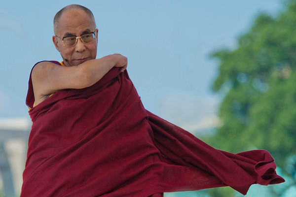 Dalai Lama speaks in Washington DC about World Peace