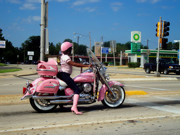 This is for real. I couldn't believe it at first. Bet 100 bucks her underwear was pink with flames.