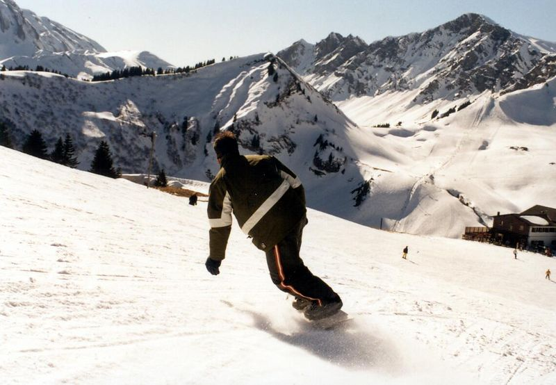 Carving in Les Crosets