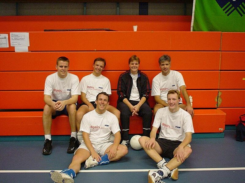 The team for the KPN Research tournament