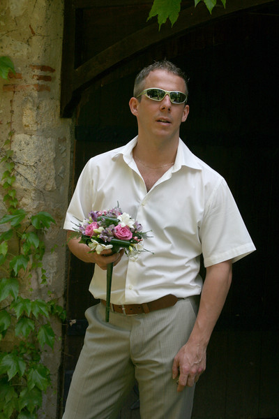 Photo by Suzanne, taken at my wedding when I went to pick up the bride... Location: La Source Bleue