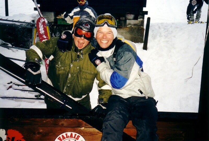 Martin and I during Apres-Ski (happy hour)
