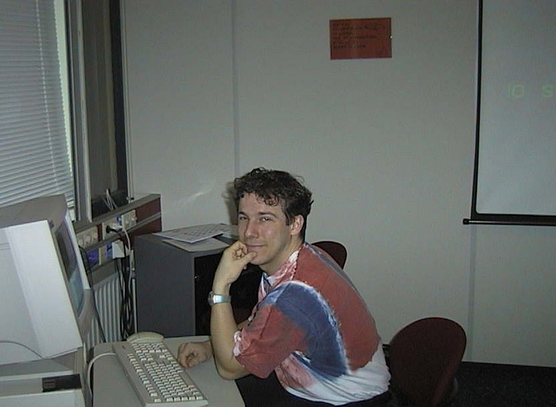 at work at KPN Research, ca. 1998-1999