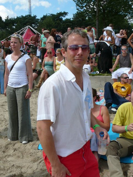 Me at Extrema 2007, photo by Anke