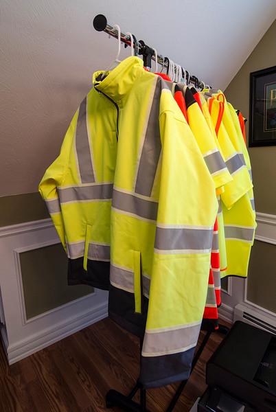 Justin Krook creates construction vests