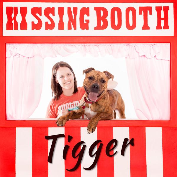 Tigger Kissing Booth - 3/29/17 - Mike Ryan