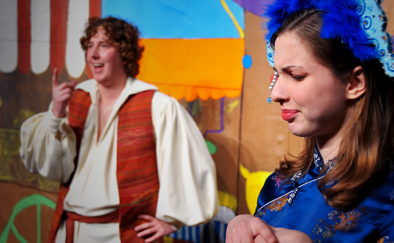 Aladdin isn't very bright, is he?<br /> Spencer Padfield & Marijana Vorkapic