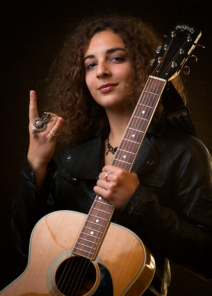 Carly Derdarian as Guitarist