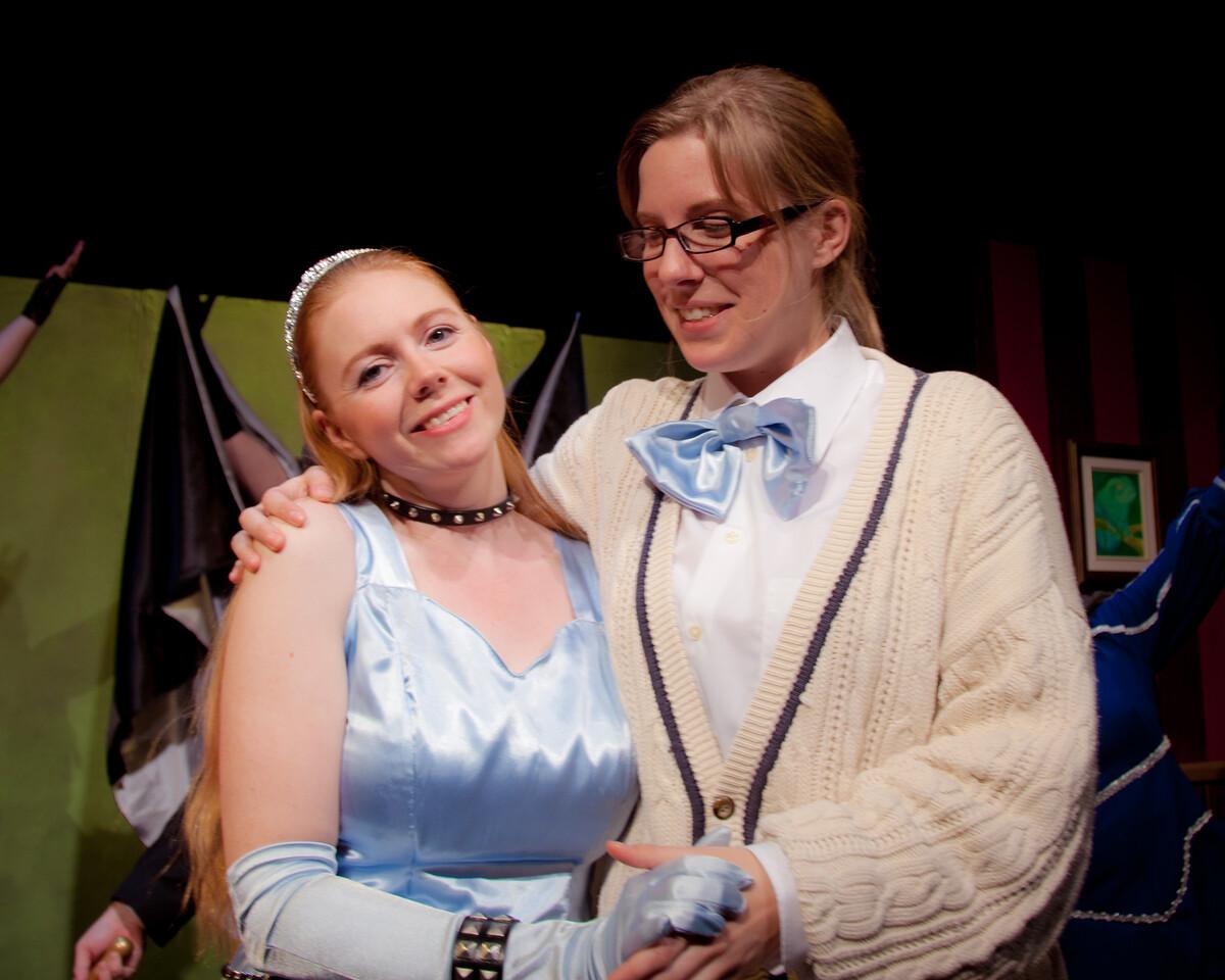 Happy endings for everyone!<br /> <br /> Lisa Hagen, Jill Skene.