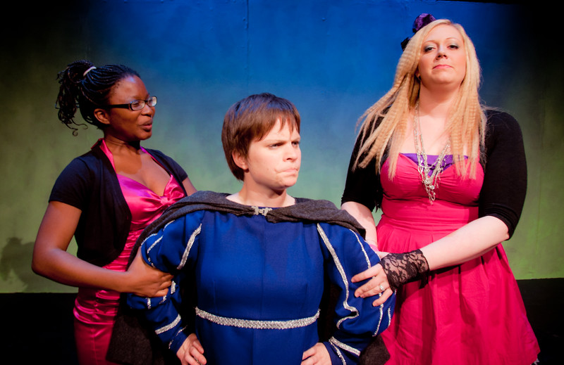 The Evil Step Mother and her daughters capture the prince!<br /> <br /> Keriece Harris, Carrie McNabb, Colleen Matthews.