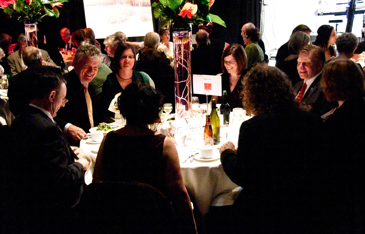 Guests at table 8.
