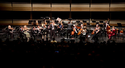 Guest solist James Ehnes performs with the Kitchener-Waterloo symphony conducted by Edwin Outwater.