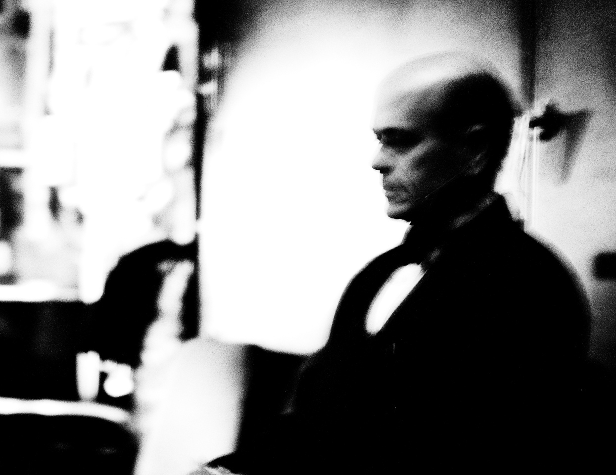 Robert Picardo, backstage before the concert.  The Kitchener-Waterloo Symphony presents STAR TREK, the music, conducted by John Morris Russell, with special hosts John de Lancie (Q) and Robert Picardo (Voyager: The Doctor).  Photograph copyright 2010 Sean M Puckett, all rights reserved.