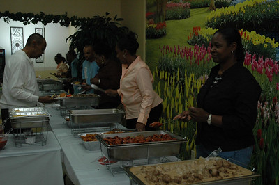 "Kamerion Wimbley's 2006 NFL Draft ""Watch Party"".   Food for everyone to enjoy."