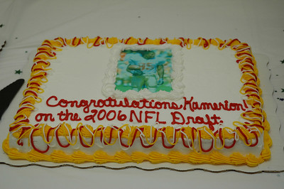 Congratulations Kamerion Wimbley on the 2006 NFL Draft.
