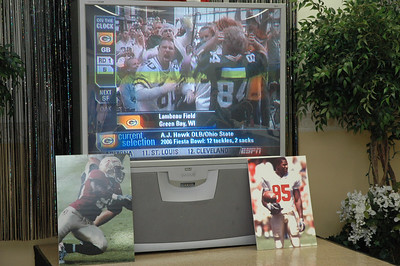 "Kamerion Wimbley's 2006 NFL Draft ""Watch Party"".   Saturday April 29, 2006.  ESPN covers the event ""live""."