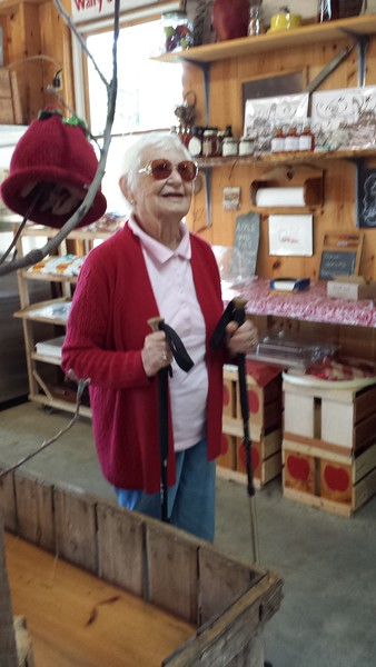 Kati at Biscay Orchard