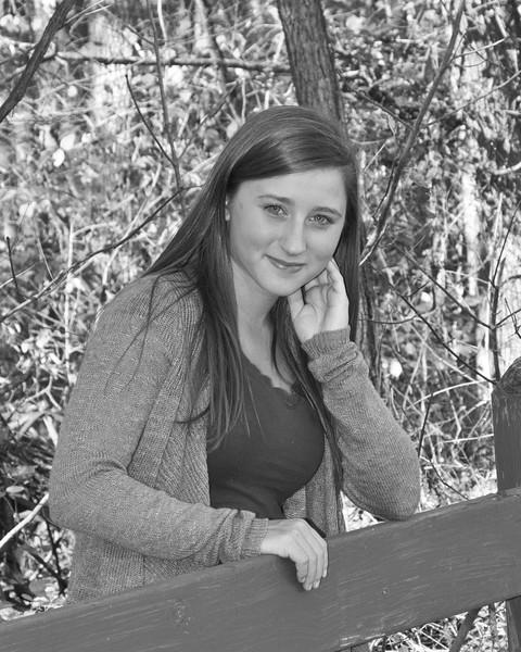 Kaylin Miller Senior 2015 128bw (1 of 1)