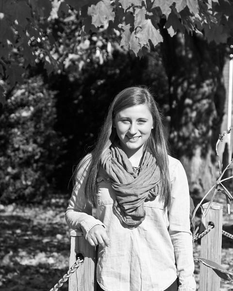 Kaylin Miller Senior 2015 182bw (1 of 1)