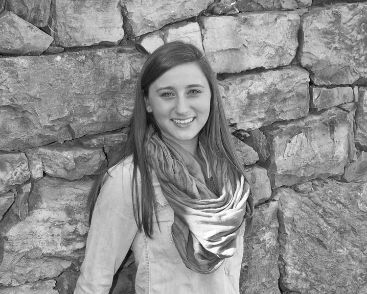 Kaylin Miller Senior 2015 152bw (1 of 1)