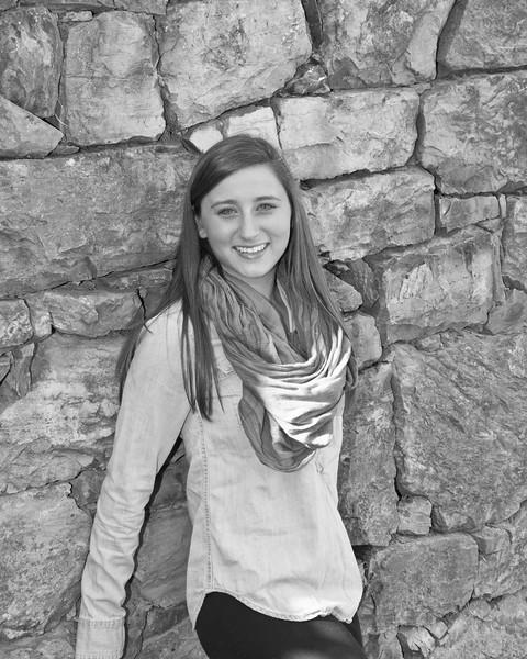 Kaylin Miller Senior 2015 150bw (1 of 1)