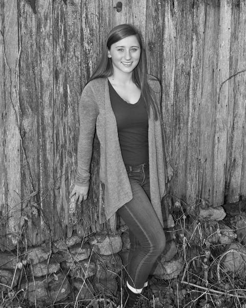 Kaylin Miller Senior 2015 110bw (1 of 1)