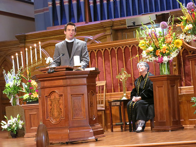 Homily by Rev. Wes Mullins, senior pastor from COS Metropolitan Community Church and a member of Out Loud.