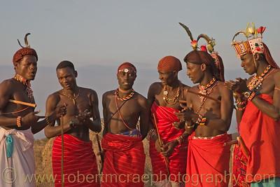 """Young Samburu Men"" - Award Winner"
