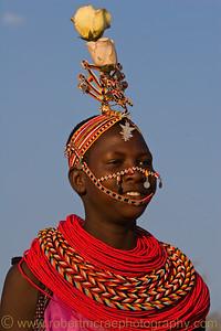 A Young Samburu woman.