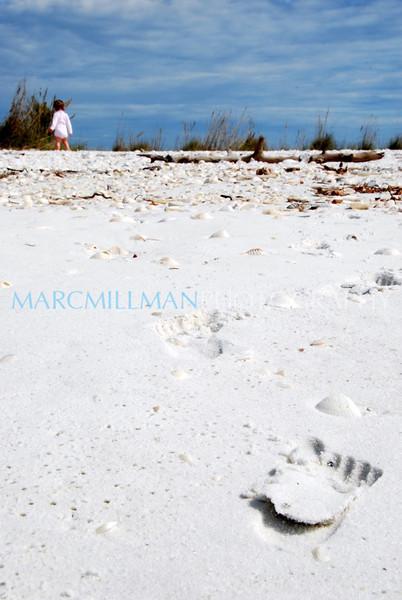 Mya's footprints2 (Sat 2 20 10)