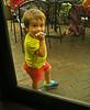 Kid in a window