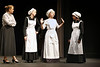 Ms. Medlocke (Angie Hyche), Maid (Amanda Broome), Cook (Michal Sellers) and Maid (Holly Matthews). Photo by Erica Yoon