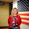 Mount Wachusett Community College Veteran Services Director Kristine E. Larkin, Thursday.<br /> SENTINEL & ENTERPRISE / BRETT CRAWFORD