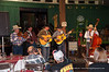 Kyle Petty (3rd from left) sings and plays guitar with the Bar D Wranglers and the D&SNG Museum.