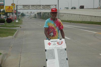 Sketches for Life Red Cross Katrina CA - NY Walk 2005.