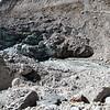 Gaumukh à 18 Kms de Gangotri alt 4225 M chemin de pélerinage